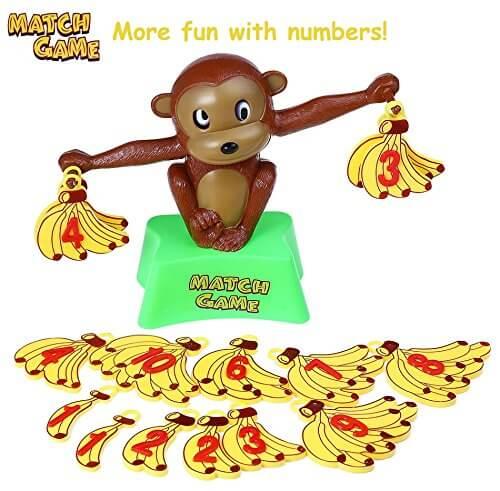 Spielzeug ab 5 Jahren - Mathematik-Affe