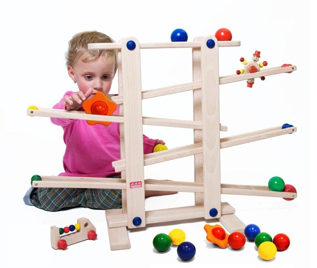 Spielzeug ab 1 Jahr - Kugelbahn Empfehlung