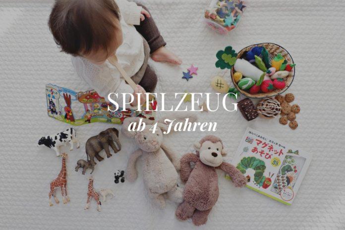 Spielzeug ab 4 Jahren Ratgeber & Tipps