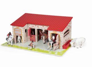 Spielzeug Pferdestall